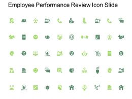 Employee Performance Review Icon Slide Target L304 Ppt Powerpoint Presentation Pictures