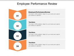 Employee Performance Review Ppt Powerpoint Presentation Styles Slide Download Cpb