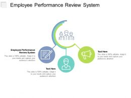Employee Performance Review System Ppt Powerpoint Presentation Infographic Template Structure Cpb