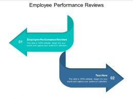 Employee Performance Reviews Ppt Powerpoint Presentation Icon Cpb