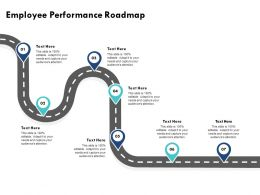 Employee Performance Roadmap Audiences Attention M265 Ppt Powerpoint Presentation Styles Layout