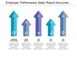 Employee Performance Sales Report Accounts Receivable Management Financial Planning Cpb