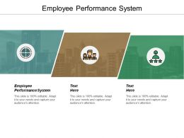 Employee Performance System Ppt Powerpoint Presentation Model Show Cpb