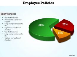 employee policies data driven powerpoint diagram templates graphics 712