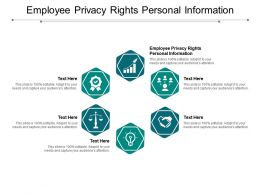 Employee Privacy Rights Personal Information Ppt Powerpoint Presentation Gallery Infographic Template Cpb