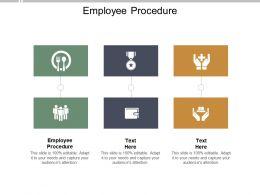 Employee Procedure Ppt Powerpoint Presentation Styles Graphics Example Cpb