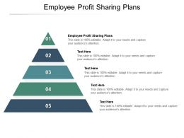 Employee Profit Sharing Plans Ppt Powerpoint Presentation Inspiration Graphics Example Cpb