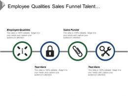 Employee Qualities Sales Funnel Talent Management Customers Management