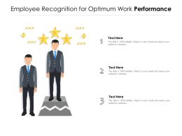Employee Recognition For Optimum Work Performance