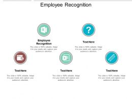 Employee Recognition Ppt Powerpoint Presentation Styles Format Ideas Cpb