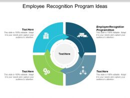 Employee Recognition Program Ideas Ppt Powerpoint Presentation Ideas Portfolio Cpb