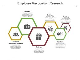 Employee Recognition Research Ppt Powerpoint Presentation Layouts Deck Cpb