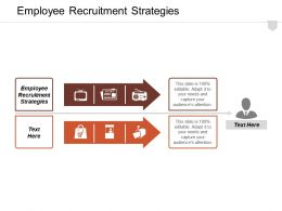 Employee Recruitment Strategies Ppt Powerpoint Presentation Infographic Template Samples Cpb
