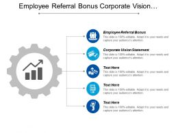 Employee Referral Bonus Corporate Vision Statement Communications Checklist Cpb