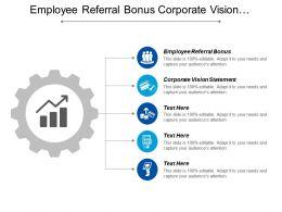 Employee Referral Bonus Corporate Vision Statement Communications Checklist Cpb