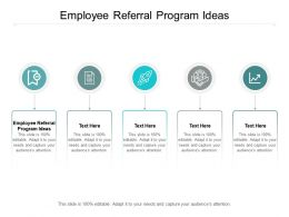 Employee Referral Program Ideas Ppt Powerpoint Presentation Styles Picture Cpb