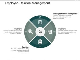 Employee Relation Management Ppt Powerpoint Presentation Inspiration Grid Cpb