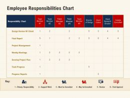 Employee Responsibilities Chart Project Management Ppt Powerpoint Rules