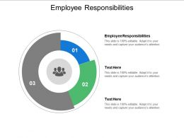 Employee Responsibilities Ppt Powerpoint Presentation Model Introduction Cpb