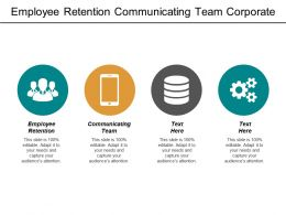 Employee Retention Communicating Team Corporate Marketing Plan Product Validation Cpb