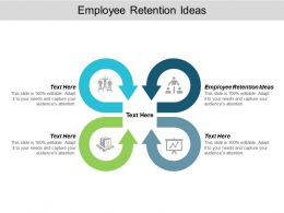 Employee Retention Ideas Ppt Powerpoint Presentation Ideas Designs Cpb