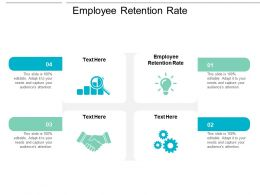 Employee Retention Rate Ppt Powerpoint Presentation Infographic Template Samples Cpb
