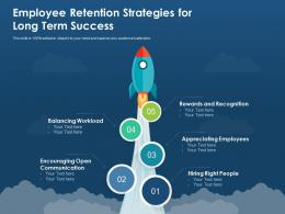 Employee Retention Strategies For Long Term Success