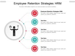 Employee Retention Strategies HRM Ppt Powerpoint Presentation File Themes Cpb