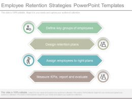 Employee Retention Strategies Powerpoint Templates