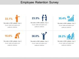 Employee Retention Survey Powerpoint Layout