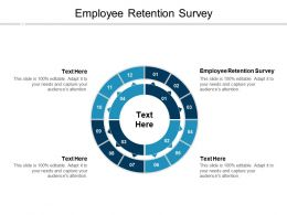 Employee Retention Survey Ppt Powerpoint Presentation Slides Styles Cpb