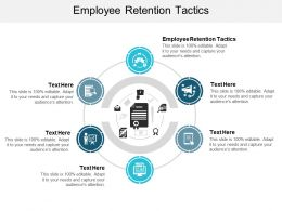 Employee Retention Tactics Ppt Powerpoint Presentation Slides Objects Cpb