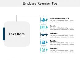 Employee Retention Tips Ppt Powerpoint Presentation File Demonstration Cpb