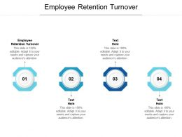 Employee Retention Turnover Ppt Powerpoint Presentation Ideas Graphic Tips Cpb