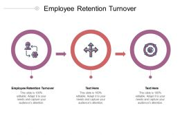 Employee Retention Turnover Ppt Powerpoint Presentation Slides Deck Cpb