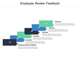 Employee Review Feedback Ppt Powerpoint Presentation Pictures Introduction Cpb