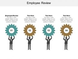 Employee Review Ppt Powerpoint Presentation Icon Background Cpb