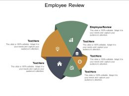 Employee Review Ppt Powerpoint Presentation Ideas Guide Cpb