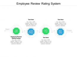 Employee Review Rating System Ppt Powerpoint Backgrounds Cpb