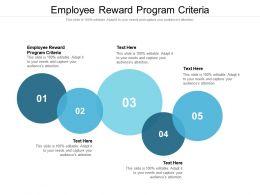 Employee Reward Program Criteria Ppt Powerpoint Presentation File Professional Cpb