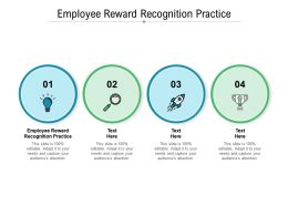 Employee Reward Recognition Practice Ppt Powerpoint Presentation Styles Rules Cpb