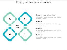Employee Rewards Incentives Ppt Powerpoint Presentation Pictures Design Templates Cpb