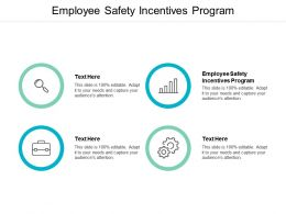 Employee Safety Incentives Program Ppt Powerpoint Presentation Infographic Template Graphics Cpb