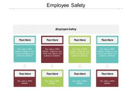 Employee Safety Ppt Powerpoint Presentation Infographic Template Graphic Tips Cpb