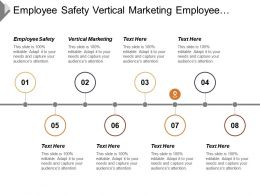 Employee Safety Vertical Marketing Employee Motivation Marketing Opportunity