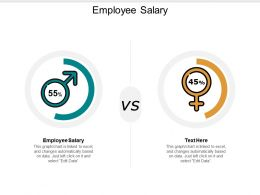 Employee Salary Ppt Powerpoint Presentation Gallery Icon Cpb