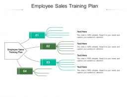 Employee Sales Training Plan Ppt Powerpoint Presentation Gallery Graphics Template Cpb