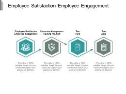 Employee Satisfaction Employee Engagement Corporate Management Training Program Cpb