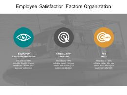 Employee Satisfaction Factors Organization Structure Business Strategy Tool Cpb