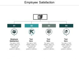 Employee Satisfaction Ppt Powerpoint Presentation Ideas Guide Cpb